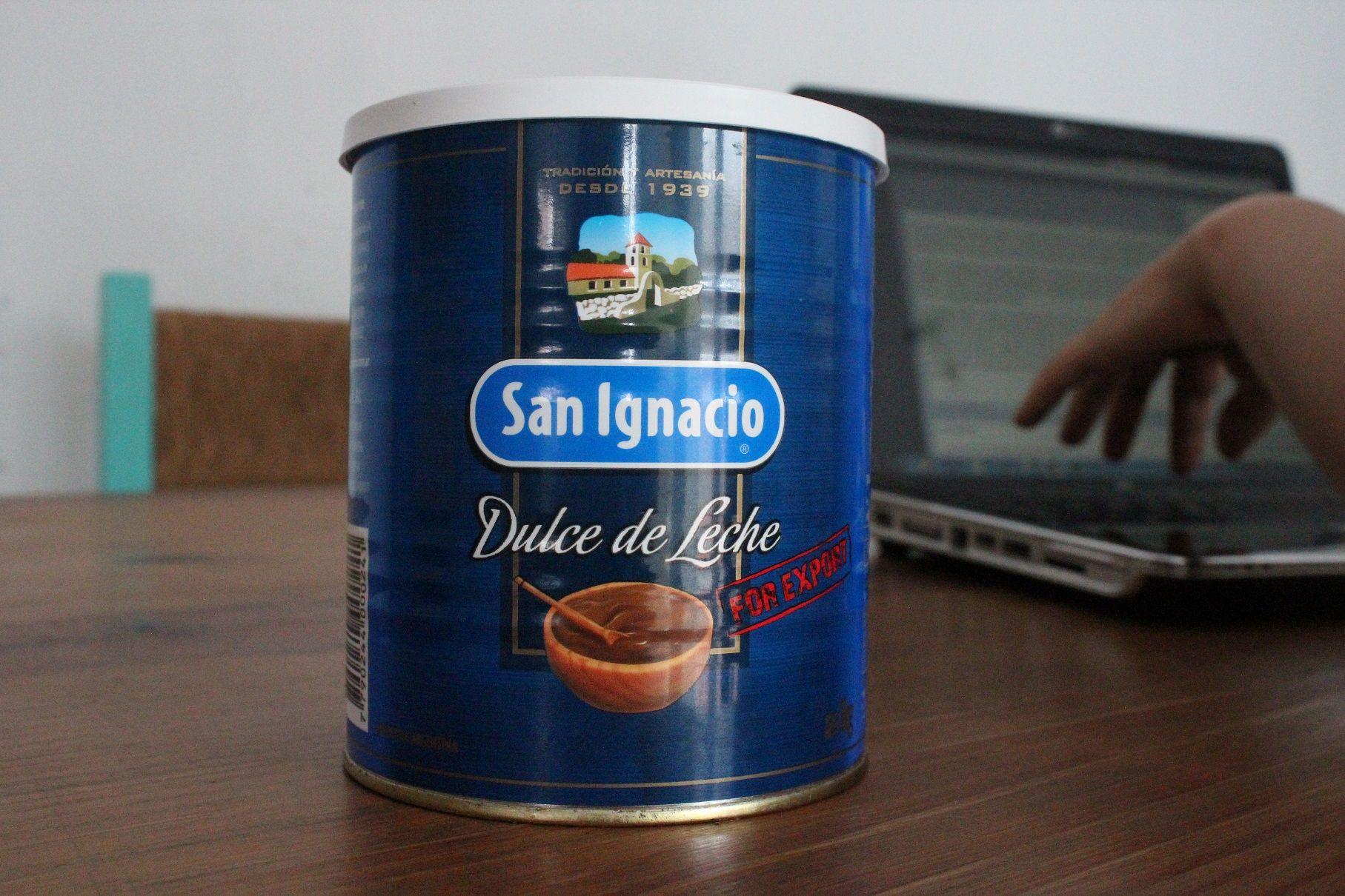 Dulce de leche San Ignacio Lata, cartón, vidrio y envase de plástico