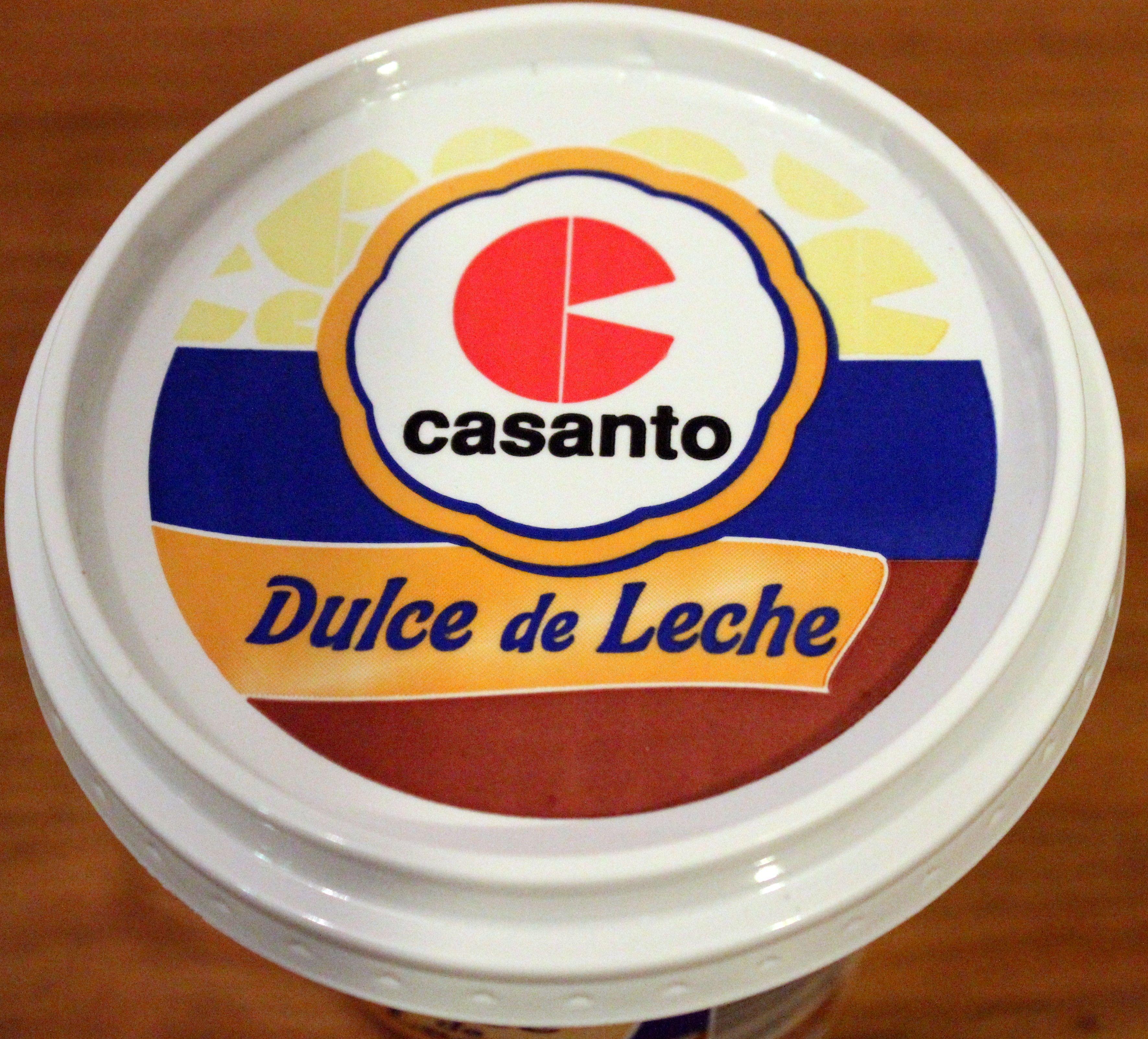 Dulce de leche Casanto
