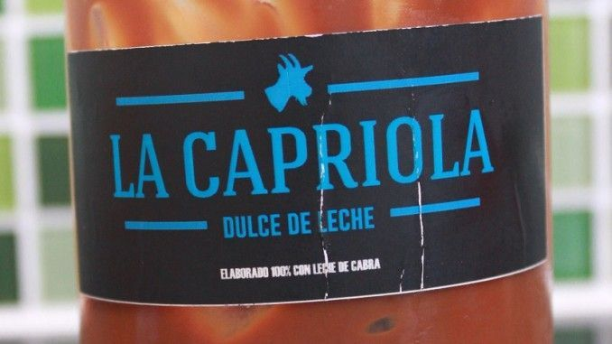 Dulce de leche de cabra La Capriola