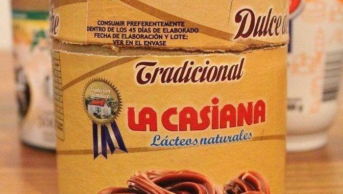 Dulce de leche de lácteos La Casiana