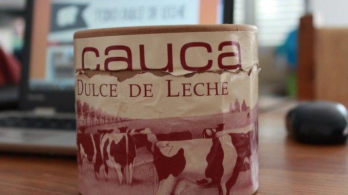 Dulce de leche Cauca de Trenque Lauquen